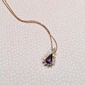 Vintage AVON Nina Ricci Pendant Necklace